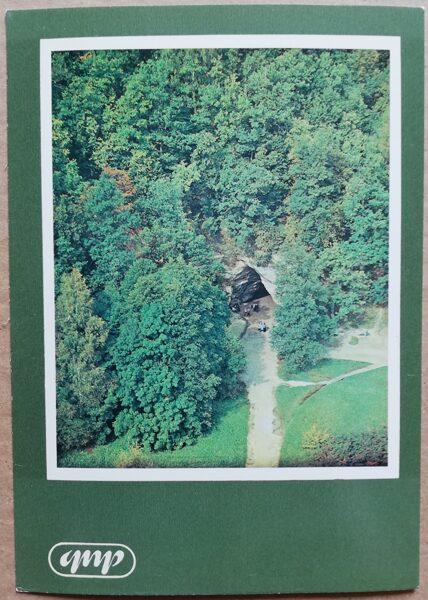 GNP Gūtmaņa ala Sigulda 1981. gads Latvija foto 10,5x15 cm.
