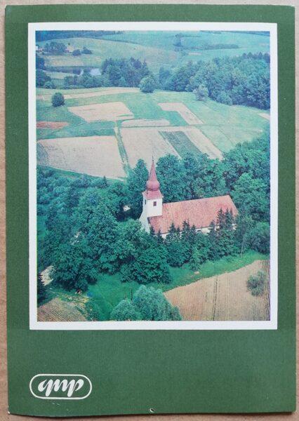 GNP Ainava pie Āraišiem 1981. gads Latvija foto 10,5x15 cm.