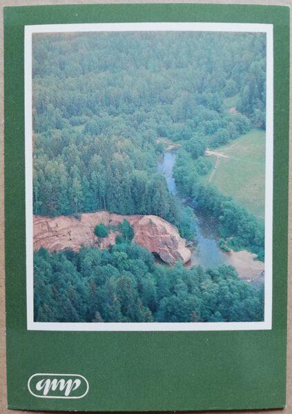 GNP Zvārtas iezis 1981. gads Latvija foto 10,5x15 cm.