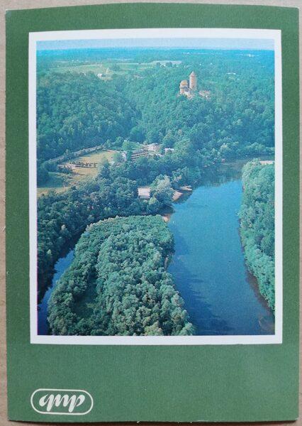 GNP Gauja pie Turaidas 1981. gads Latvija foto 10,5x15 cm.