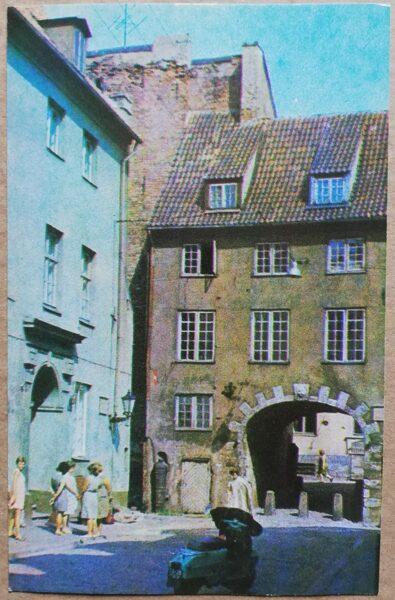Latvijas PSR foto. Rīga. Zviedru vārti. 1974. gads 9x14 cm.