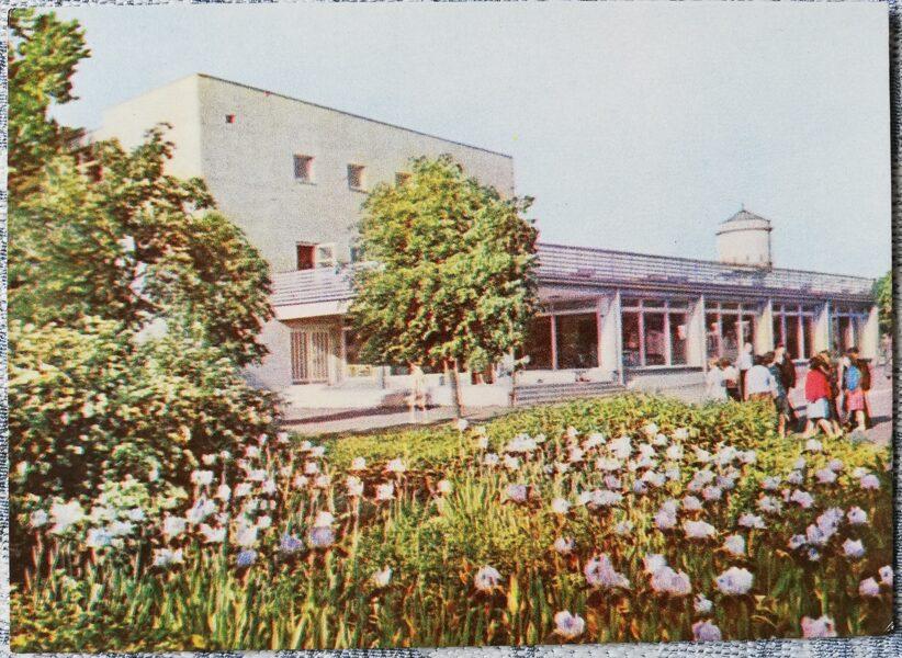 Cesis 1965 Cultural goods store 14x10 cm postcard