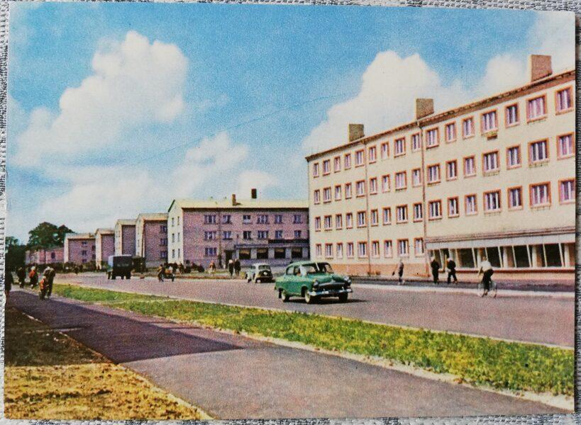 Ventspils 1965 Brivkalna Street 14x10 cm postcard