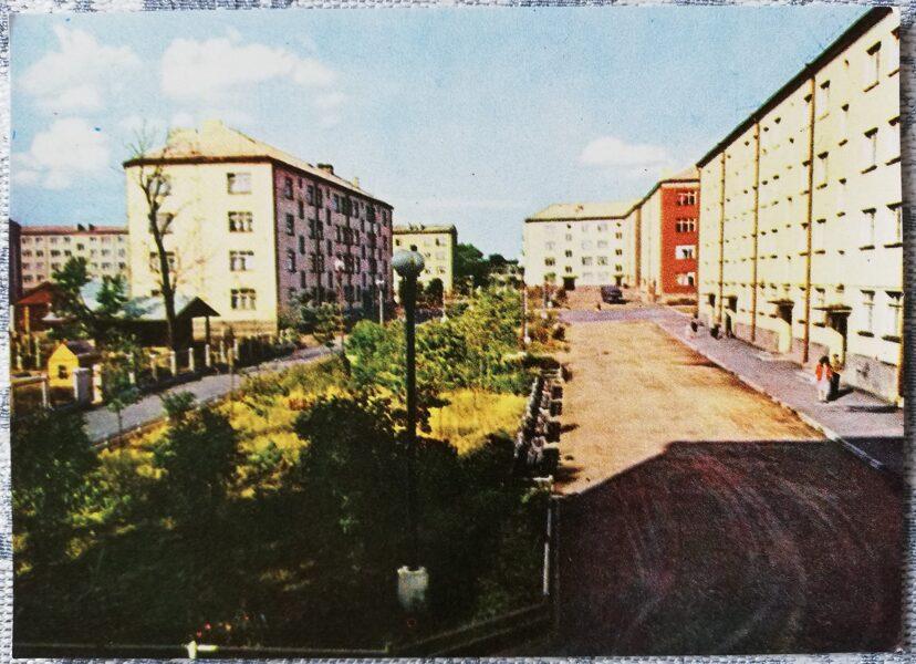 "Daugavpils 1966. gada mikrorajons ""Cheryomushki"" 14x10 cm pastkarte"