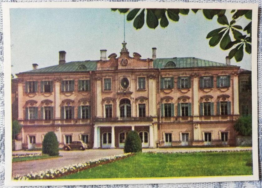 Pastkarte 1955. gada Valsts mākslas muzeja Kadriorgā Igaunija, Tallina 14x10,5 cm