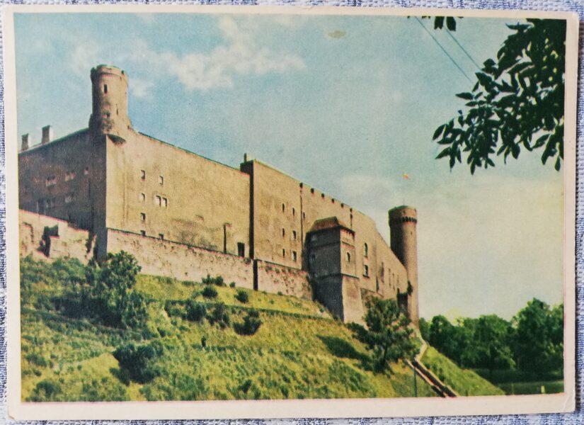 Pastkarte 1955 Domkalns Igaunija, Tallina 14x10,5 cm