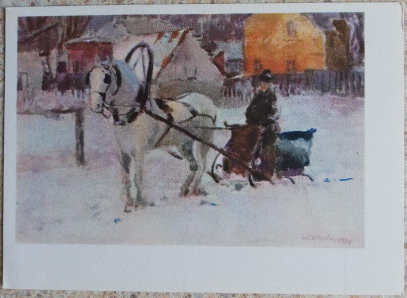 Kajetonas Sklerius 1964 Ormanis 15x10,5 mākslas pastkarte