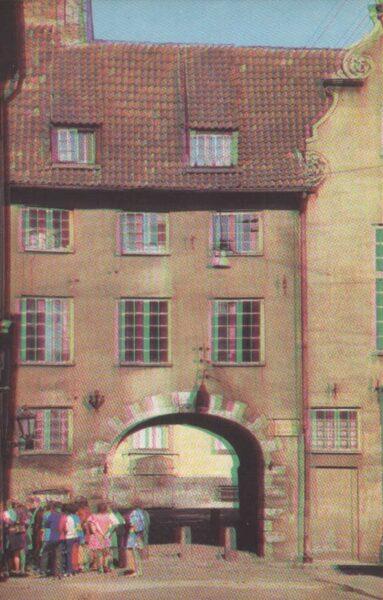 Latvija. Rīga. 1981. gads Zviedru vārti. 9x14 cm.