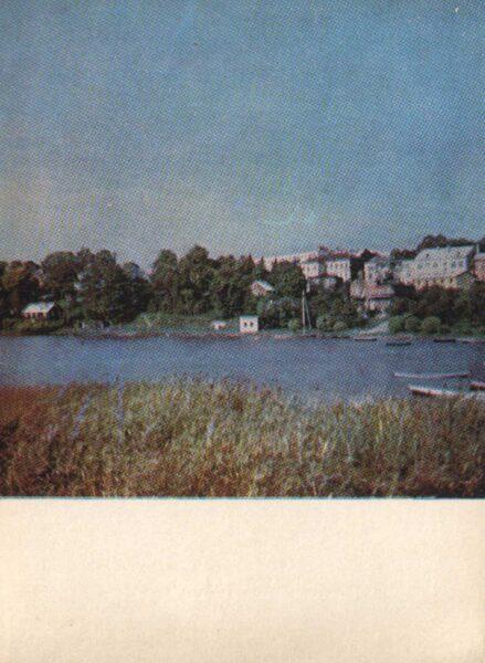 Lietuva. Telši 1975. gada pastkarte. Telši ir Masta krastos. 10x14 cm (LT: Telšiai)