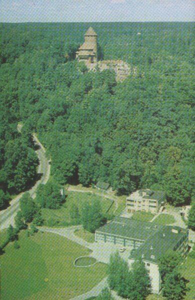 Sigulda 1981. gads Latvijas PSR. Siguldas tūristu bāze. 9x14 cm.
