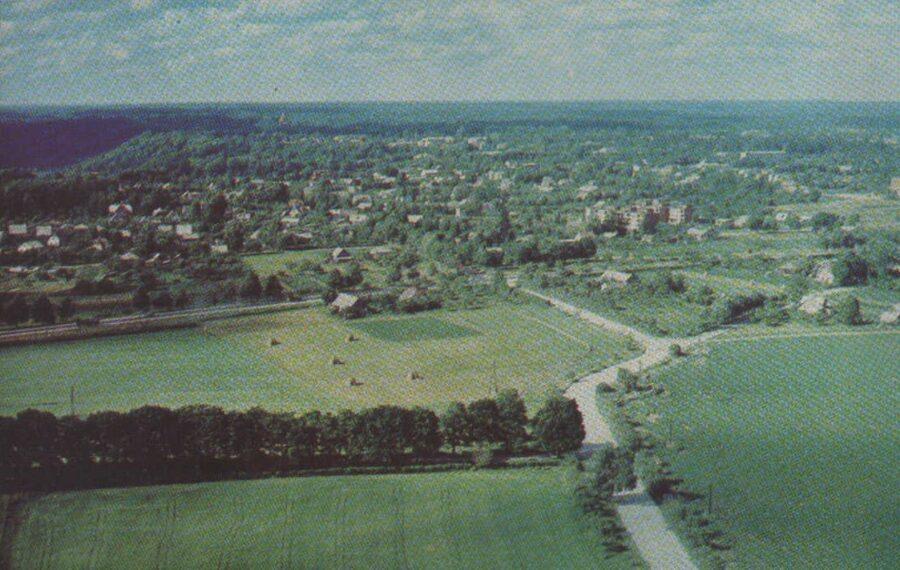 Sigulda 1981. gads Latvijas PSR. 14x9 cm.